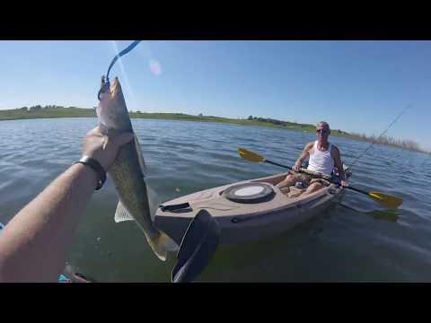 Fishing Kramper Lake Hubbard Nebraska