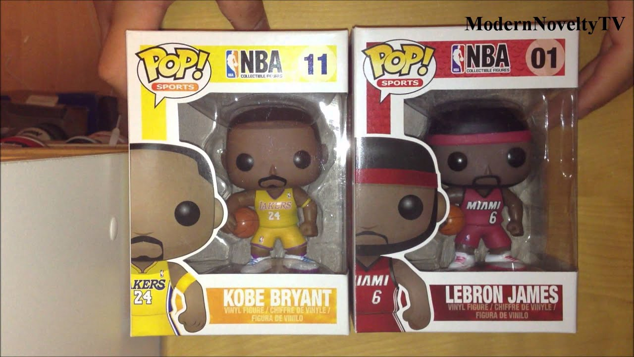 Funko Pop Pickup Kobe Bryant Amp Lebron James Youtube