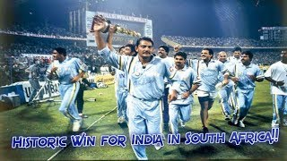 India's First ODI Win in South Africa | Historic Moment for Indian Cricket | INDIA MAKE HISTORY!!