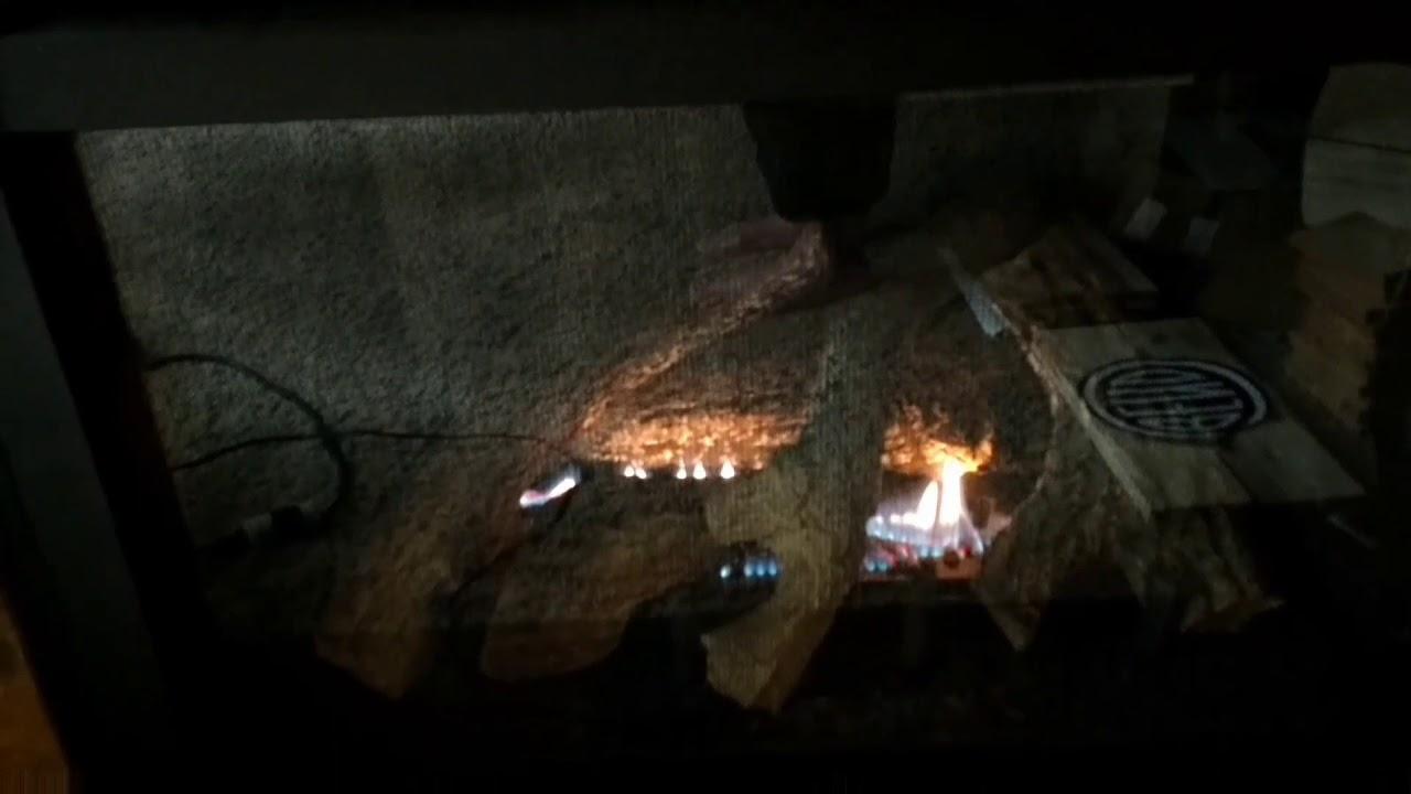 Fireplace won't stay lit - YouTube