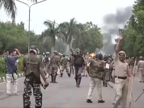Sacha Sauda Baba Ram Rahim Exclusive videos -Panchkula violence Part-3