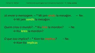 Interferoj de la portugala dum lernado de Esperanto (3)
