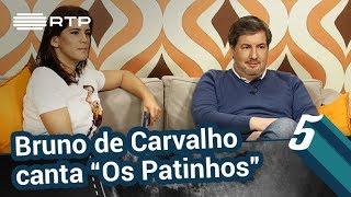Bruno de Carvalho canta