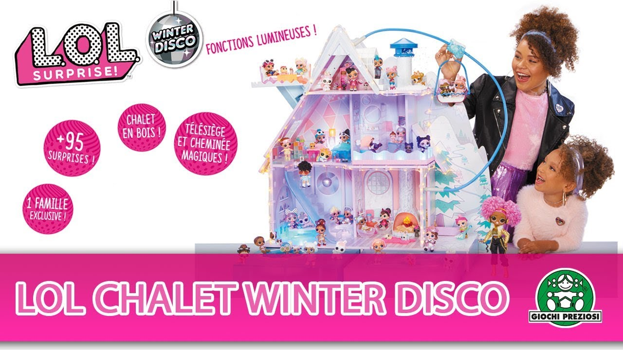 L.O.L Surprise / Chalet Winter Disco / Pub TV / Giochi France