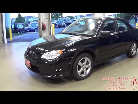 2007 Subaru Impreza 2.5 i Frank Boucher Kia Mazda Volkswagen