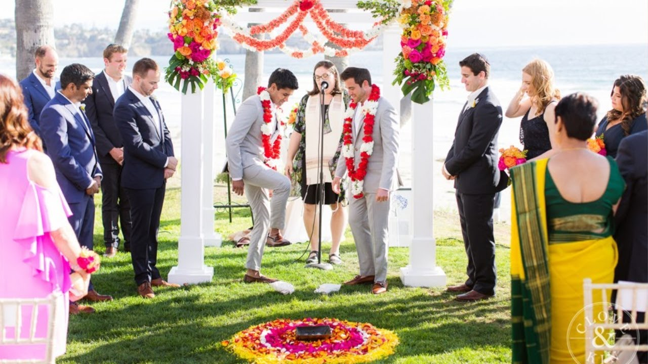 Tye & Nithan | Gorgeous Multicultural Fusion of Love