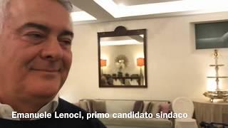 Lenoci al debutto da candidato sindaco: «Con me una rete civica che punta alla concretezza»