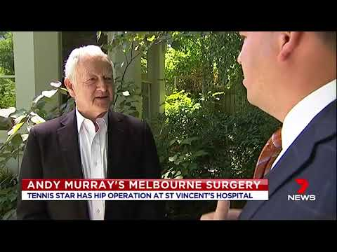 Dr John O'Donnell discusses hip surgery performed on tennis star Andy Murray