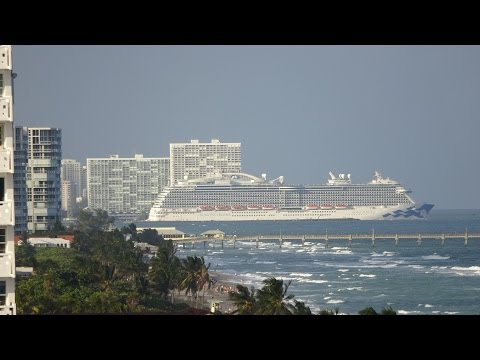 Ft. Lauderdale Cruise Ships - November 6, 2016 (Royal & Regal Princess, Allure of the Seas, & more)