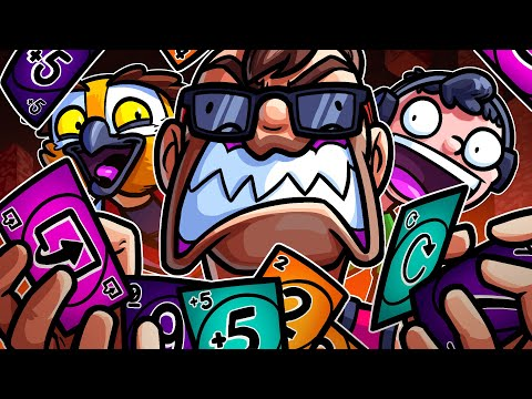 The NEW Uno Flip Mode Is RAGE INDUCING!!! |