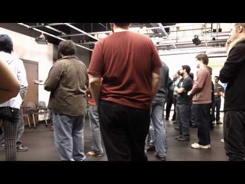 Global Game Jam 2013 at the University of Denver - social sorting 2