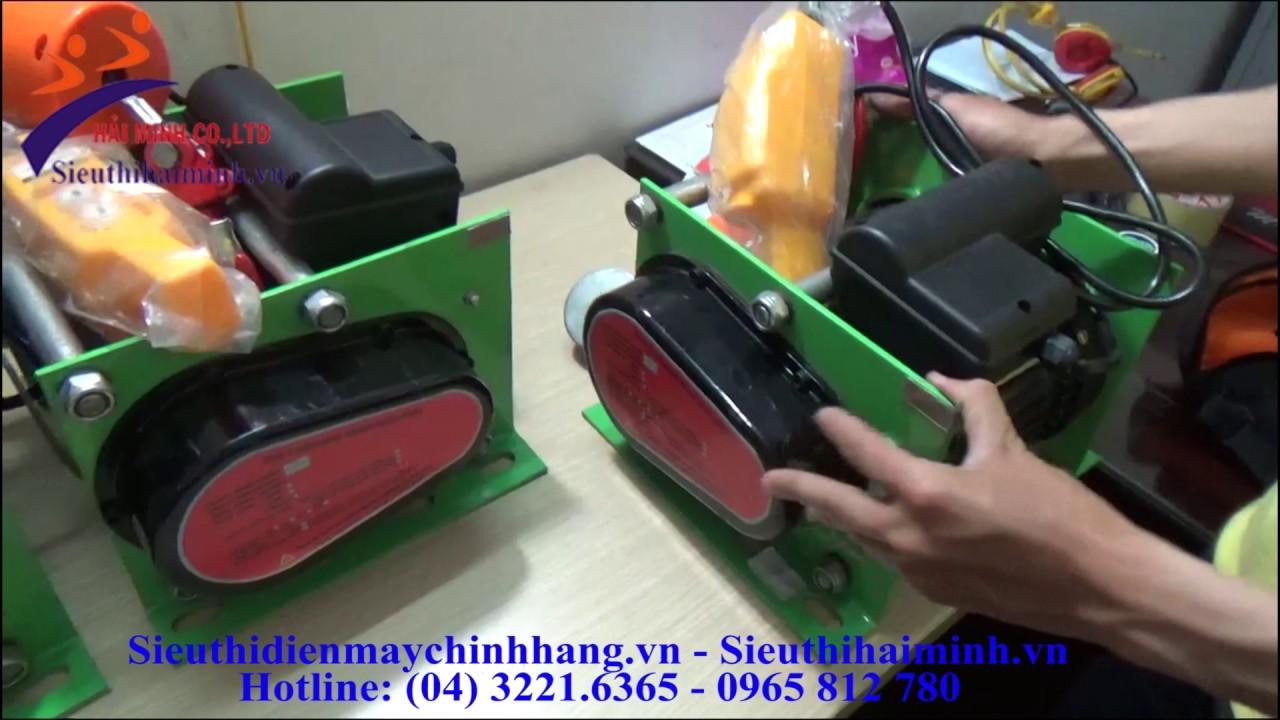 Giới thiệu và hướng dẫn sử dụng máy tời mặt đất YAMAFUJI