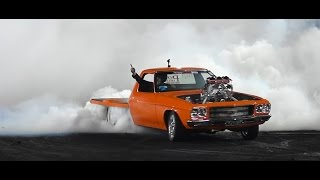 T4TUFF FINALS BURNOUT AT BRASHERNATS SYDNEY 2015