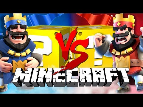 Minecraft: CLASH ROYALE LUCKY BLOCK CHALLENGE | 2v2 BATTLES!!