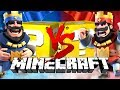 Minecraft: CLASH ROYALE LUCKY BLOCK CHALLENGE | 2v2 BATTLES!!
