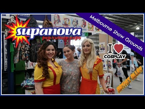 Supanova Pop Culture Expo Melbourne 2017