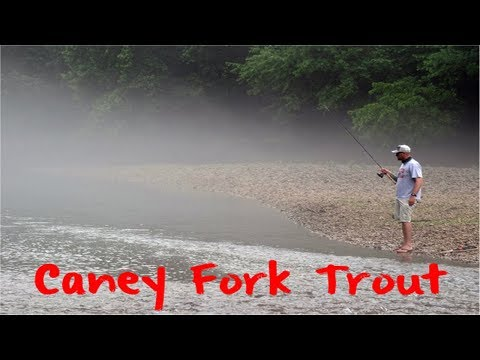 Trout Fishing Tennessee's Caney Fork