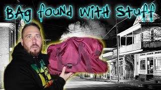 MYSTERIOUS BAG LEFT IN ABANDONED GHOST TOWN!