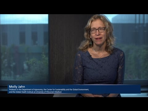 Scientific data and unconventional partnerships: future risk models - Interview with Molly Jahn