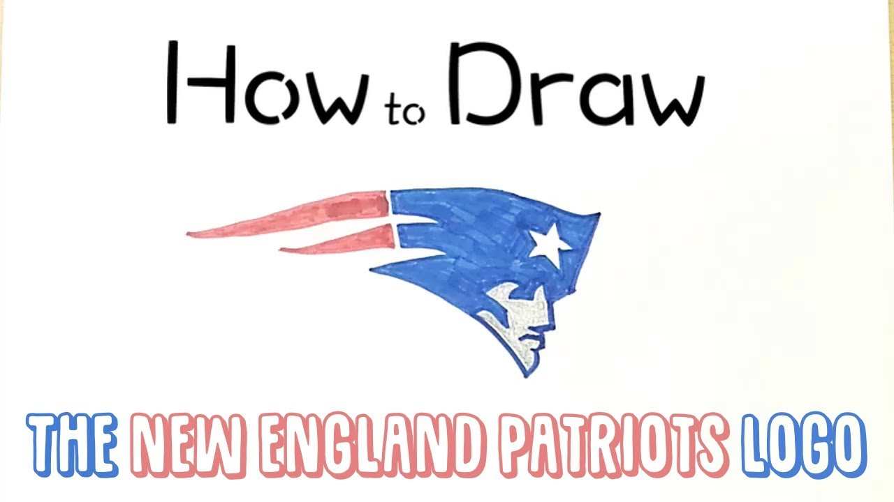 How To Draw The New England Patriots Logo Youtube