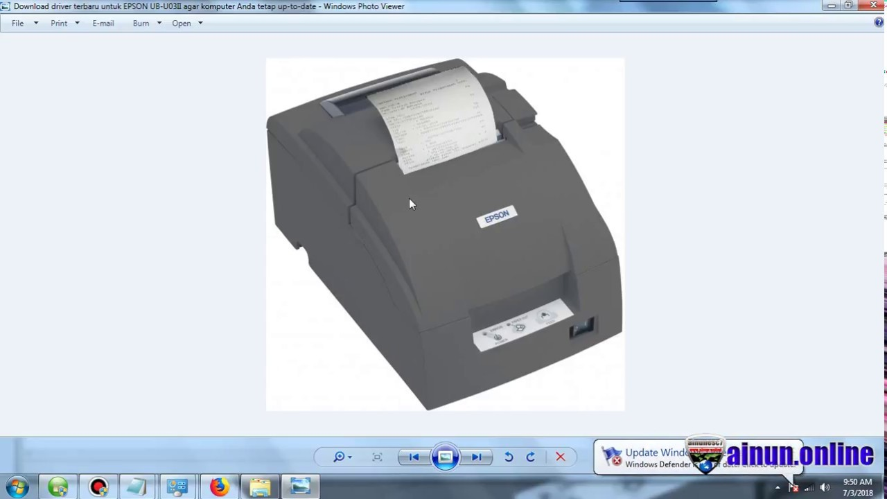 Download drivers for the epson tm-u220: tm-u220a, tm-u220b, tm.