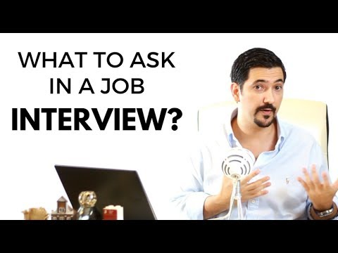 What Questions To Ask In A Job Interview? ✓ - YouTube - questions to ask during interview