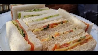How to make: Easy Home made High Tea Sandwiches