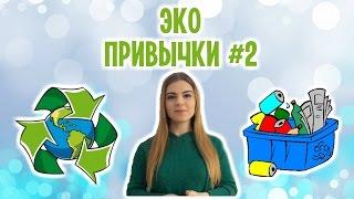Как стать Eco-friendly | Мои эко привычки | часть 2