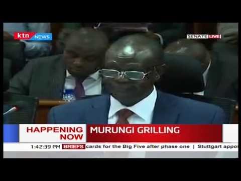 Governor Kiraitu before Senate committee to answer audit queries, clashes with Senator Linturi