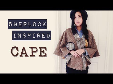 DIY ✂ Sherlock Inspired Reversible Cape