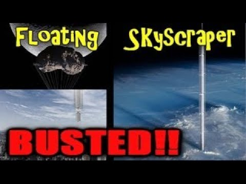Amazing architecture: world's first upside down skyscraper would hang from asteroid - Tomo