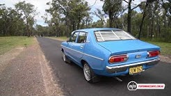 1978 Datsun 120Y 0-100km/h & engine sound