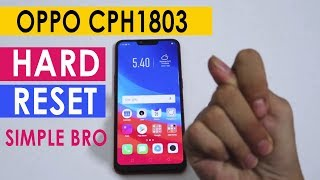 OPPO A3S CPH1803 A5S F11 PRO A1K RENO FACTORY RESET | HARD RESET | PATTERN LOCK | PASSWORD