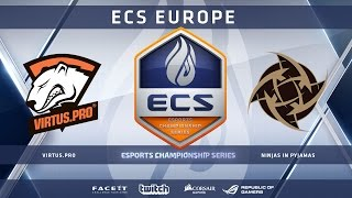 VirtusPro vs NiP - Cobblestone (ECS Season 2 Europe)
