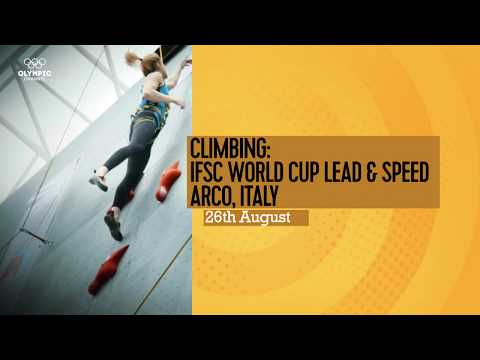 Upcoming Event Trailer - IFSC Climbing World Cup Arco 2017 - LEAD & SPEED