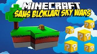 ŞANS BLOKLARI SKY WARS - Minecraft Sky Wars w/Ndng Enes,Baturay