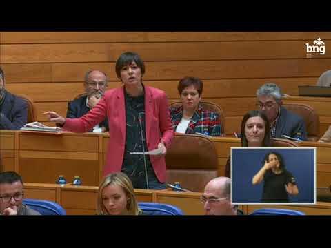 """Ana Pontón a Feixóo: """"Empece por facer os seus deberes, convoque as 6.067 prazas vacantes da sanidade pública galega"""""""