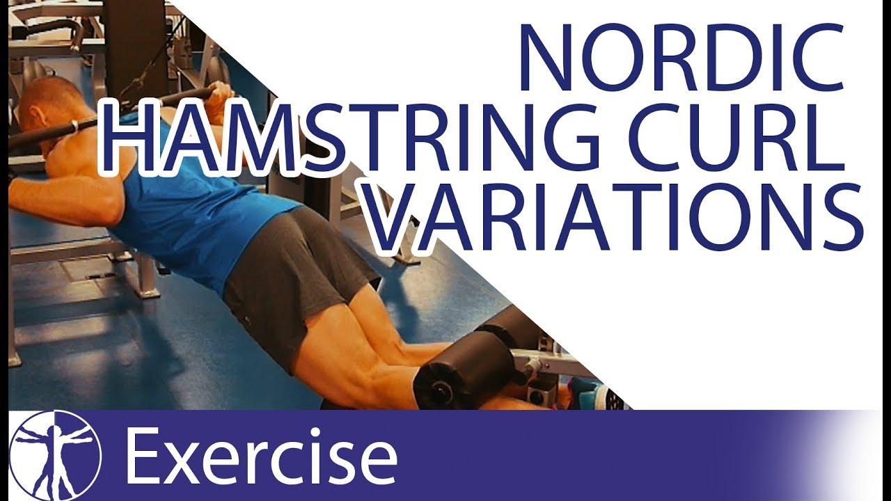 Nordic Hamstring Curl Variations | Hamstring Training