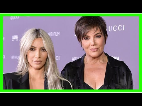 Kim Kardashian and Kris Jenner Help Reopen South Los Angeles Community Center -- See the Pics!