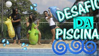 Morremos congeladas! Desafio da piscina ft. Camila Loures thumbnail