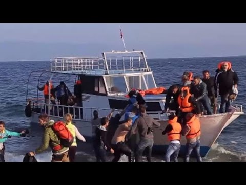 LIVE from Lesbos as EU-Turkey deal comes into force