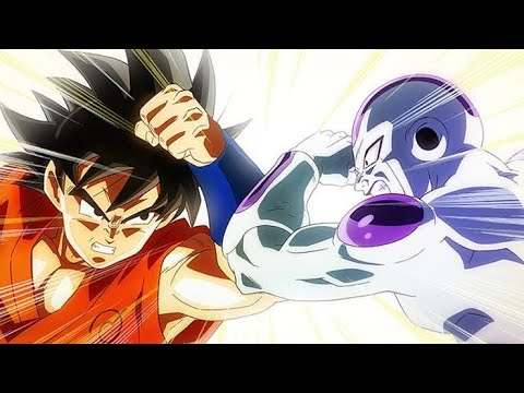 Goku (Base) vs. Frieza (Final Form) - YouTube