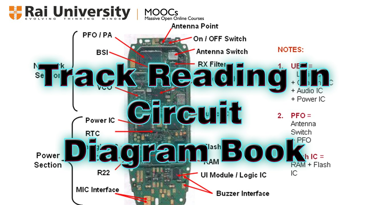Track reading in circuit diagram  YouTube