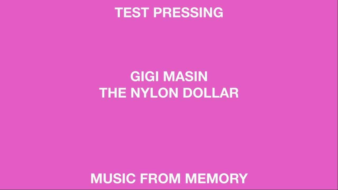 Gigi Masin The Nylon Dollar Music From Memory Youtube