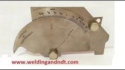 How to use  a welding gauge - Bridge Cam Gauge