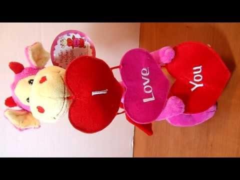 Animated Musical Plush Stuffed Dragon Sings Your Love Keeps Lifting Me Higher