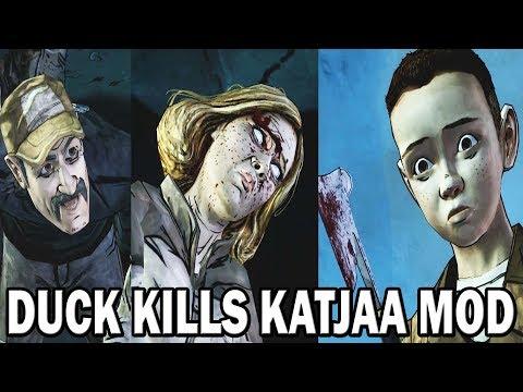 Walking Dead Season 2 - Duck Kills Katjaa [Model Swap] |