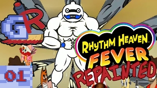 Andy || Rhythm Heaven Fever Repainted (Part 1)