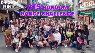 [K-POP IN PUBLIC] RANDOM DANCE CHALLENGE - BTS EDITION by ABK Crew from Australia