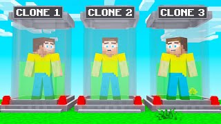 CLONING MYSELF In MINECRAFT! (Experiment)